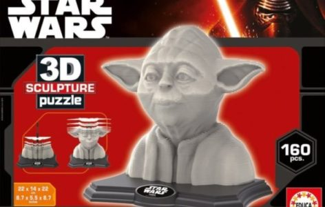 Educa 16501 - 3D Sculpture Puzzle Yoda