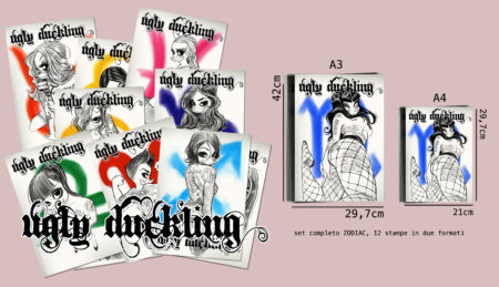 set completo ugly duckling zodiacali